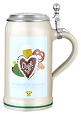 Oktoberfeststein 2017 with engraved tin lid