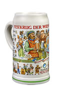 Collector Stein of the Oktoberfest Hosts 2016 - Basic edition without lid