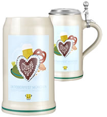 Oktoberfeststein - New official festival steins and mugs - Octoberfest Collectors Pitcher